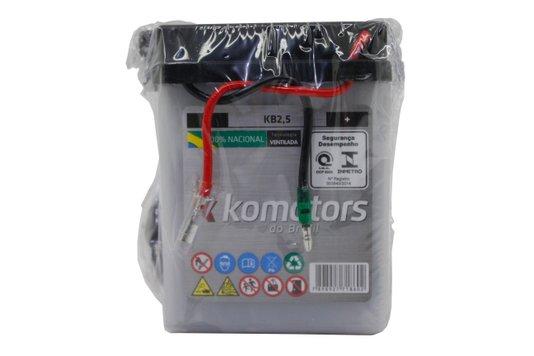 Bateria Para Moto KB2,5 Original Komotors