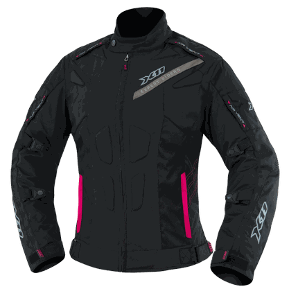 Jaqueta Segurança Impermeável X11 EVO 3 Feminina - P - Preto com Rosa