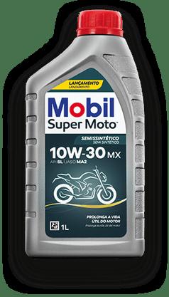 Óleo Lubrificante Motor Semissintético Mobil Super Moto Mx 10w30