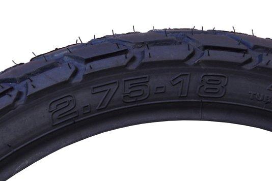 Pneu Moto Dianterio 2.75 x 18 CG 125 150 Titan YBR Technic
