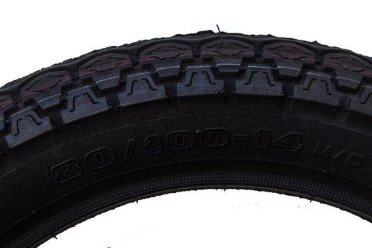 Pneu Moto Traseiro Honda Biz 80/100 x 14 Pirelli