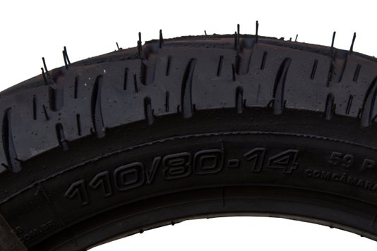 Pneu Moto Traseiro Honda PCX 150cc 110/80 x 14 Technic Largo