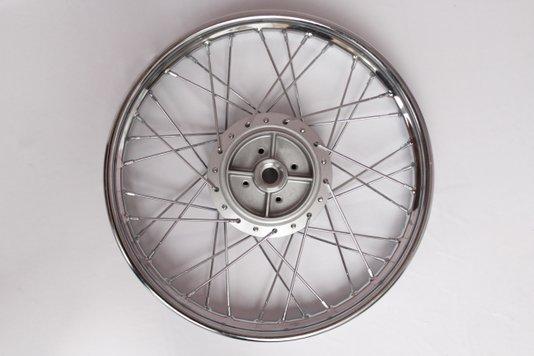 Roda Moto Completa Montada Cromada Traseira Factor YBR