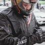 Jaqueta Segurança Impermeável X11 EVO 3 - GG - PRETO / VERMELHO