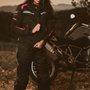 Jaqueta Segurança Impermeável X11 ONE 2 Feminino - G - Preto com Rosa