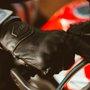 Luva Motoqueiro Motociclista Couro X11 Route 2 Tam. G