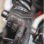 Luvas Motoqueiro Motociclista Fit X Tecido Preto ( G )  X11