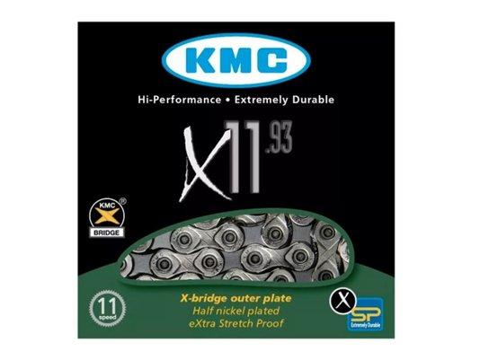 CORRENTE KMC 11 VELOCIDADES X-11 SILVER