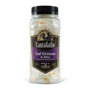 Sal Grosso & Alho para Churrasco Cantagallo 900g