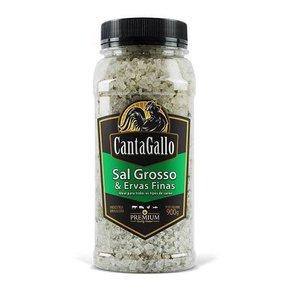 Sal Grosso & Ervas Finas para Churrasco Cantagallo 900g